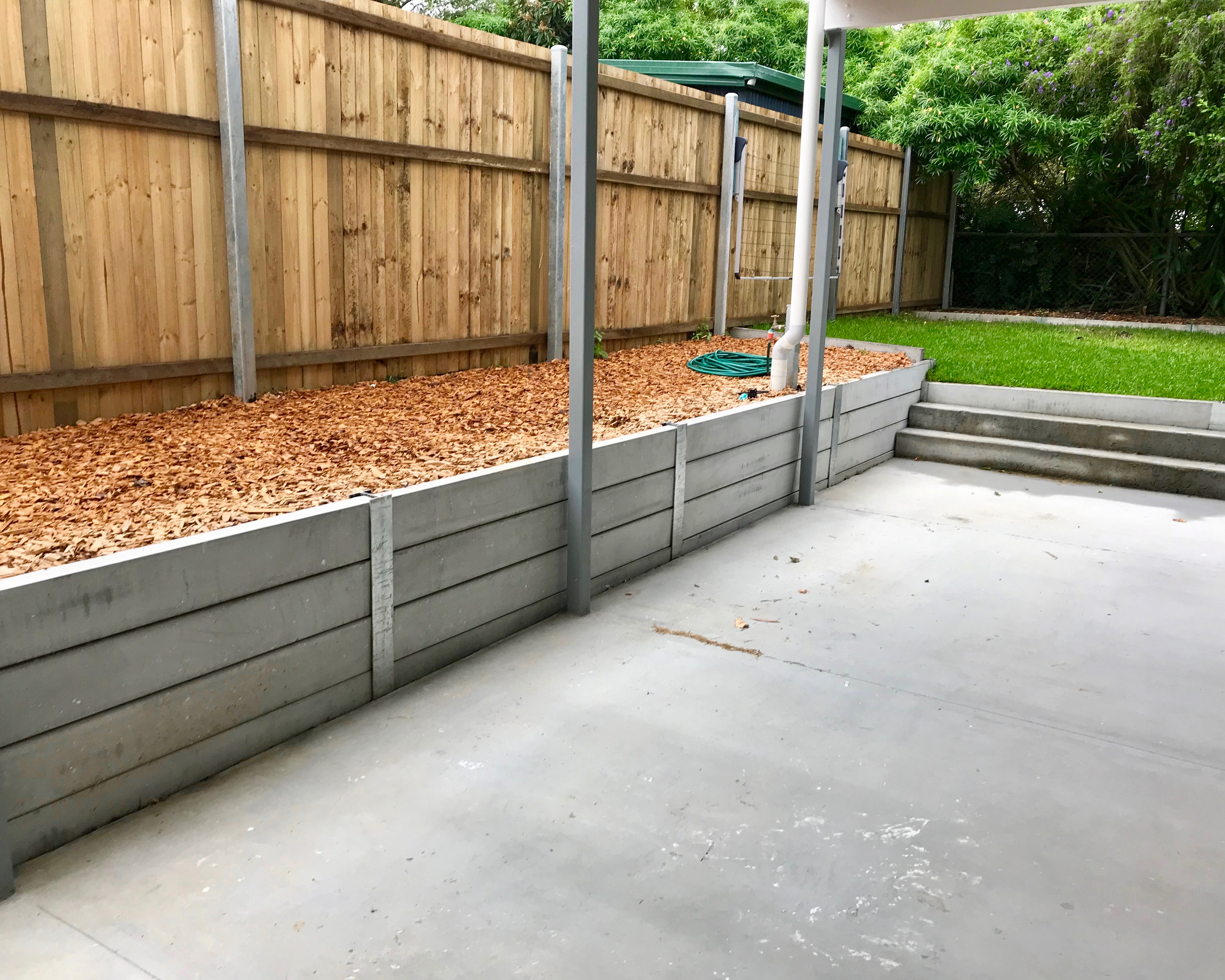 Retaining Walls in Assocation with Raising Houses   Raise My House